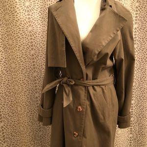 Jacqueline Ferrar Vintage Full Length Trench Coat